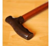Трость деревянная с пластик. ручкой с УПС ИПР-Ш-850