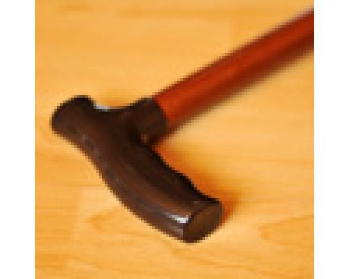 Трость деревянная с пластик. ручкой с УПС ИПР-Ш-750