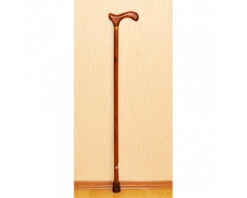 Деревянная трость с деревянной ручкой с УПС (модель ДР-Ш)
