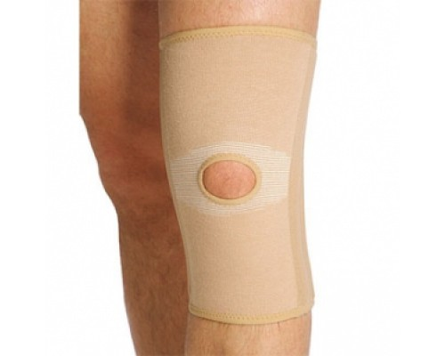 Бандаж ортопедический на коленный сустав с гибкими ребрами жесткости 871 BКN