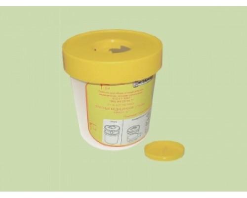 ЕСО-01. Емкость для сбора колюще-режущих мед. отходов (одноразовая)