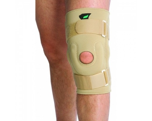 Бандаж на коленный сустав с мет. шарнирами 139 NKN