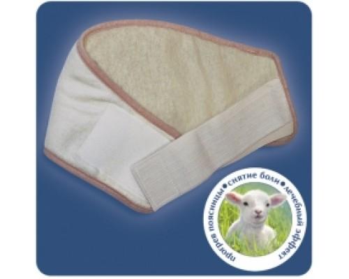 Бандаж согревающий из овечьей шерсти, арт 107