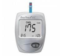 Анализатор портативный для измерения уровня холестерина,глюкозы в крови EasyTouch GC