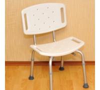 Стул со спинкой для ванной комнаты, модель LK 4011