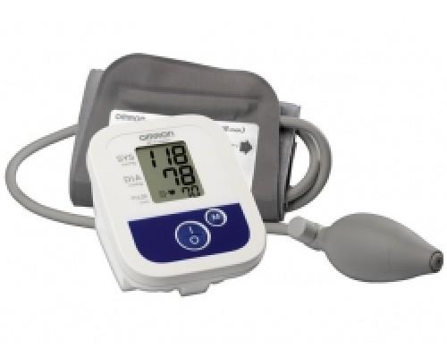 """Тонометр полуавтоматический для измерения артериального давления на плече """"Omron"""", модель M1 Compact"""