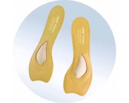 """Ортопедические укороченные стельки для открытой обуви """"Orto"""", модель Prima"""