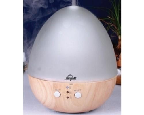 PNG-A71 - ароматизатор-увлажнитель в форме яйца из благородных материалов натурального стекла и дерева