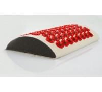 Иппликатор Тибетский магнитный Валик для поясницы (красный)