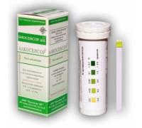 Тест-полоски АЛКОСЕНСОР Биосенсор АН для определения алкоголя в крови по слюне (50 штук в упаковке)