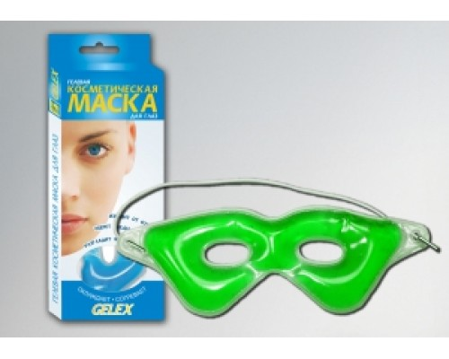 Гелевая косметическая маска GELEX для глаз