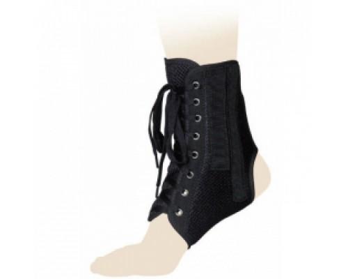 Бандаж фиксирующий голеностопный на шнуровке КГСС-01