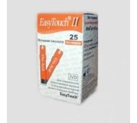 Тест-полоски EasyTouch Мочевая кислота (25 штук в упаковке)