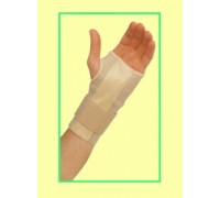 Бандаж на запястье и руку с анатомич. мет.пластиной