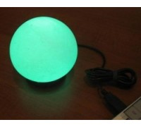 Солевая USB-лампа «Сфера»