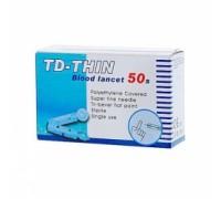 Ланцеты TD-THIN № 50 (ТайДок)