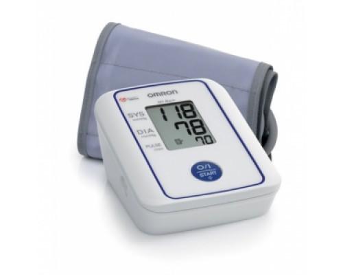 """Тонометр автоматический для измерения артериального давления на плече """"Omron"""", модель M2 Basic  адаптер+универсальная манжета"""