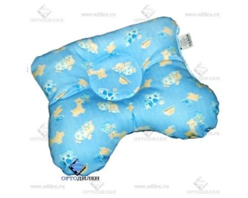 Подушка ортопедическая для новорожденных, артикул 1165