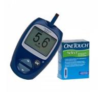 Глюкометр и тест полоски One Touch Select (Уан Тач Селект)
