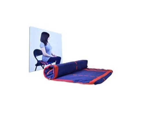 Шунгитовый коврик овальный (55х38 см.)