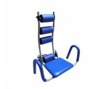 Тренажёр для мышц живота с фиксированным сиденьем