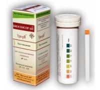 Тест-полоски Ури-рН Биосенсор АН для определения рН в моче (50 штук в упаковке)